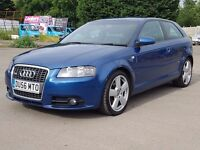 2007 Beautiful Audi S line, 3 Months Warranty,Long Mot, Hpi Clear 4495 Ono