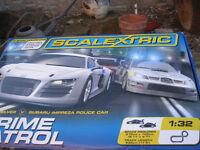 scalextric crime patrol set