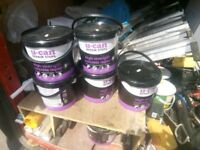 5 tubs of patch repairs cement
