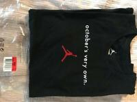 Nike Air Jordan Drake OVO Limited Edition t shirt
