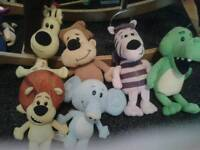 Raa raa the noisy lion soft toys, used for sale  County Durham