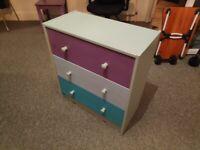 Ikea RAST - Chest 3 drawers, pine - 62x70 cm