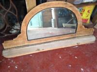 Semi Circular Wall Mirror