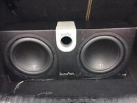 Subwoofers 2x12inch