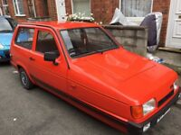 1992 Reliant Robin LX. (Offers considered)