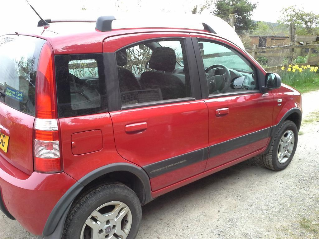 fiat panda 4x4 for sale in inverness highland gumtree. Black Bedroom Furniture Sets. Home Design Ideas