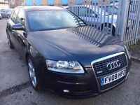 AUDI A6 AVANT 2.0TDI S LINE AUTOMATIC DIESEL ESTATE HALF LEATHER FULL DEALER HISTORY SAT NAV 2008