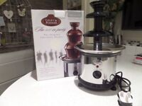 Chocolate Fountain - unused quality product by Giles & Posner in original packaging
