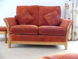 Good Quality Two seater 3 piece suite