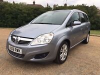 Vauxhall Zafira 2008 Manual Petrol 1.8 7 Seater