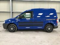 VW CADDY 09 SPECIAL EDITION OVER £4000 OF FACTORY EXTRAS EXTREMELY LOW MILES FSH YEARS MOT CLEAN