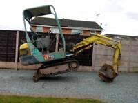 Yanmar b15-3 mini digger excavator