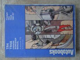 Triumph TR4 TR4A Owners Workshop Manual