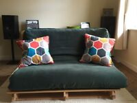 Double futon sofa / bed. Very good condition