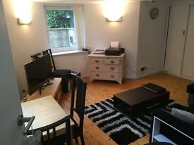 Kings Road spacious modern 1 bed flat. Private entrance. No fees.DG, combi, washer, fridge