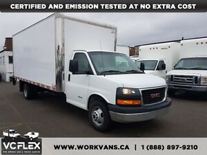 2012 GMC Savana G4500 18Ft + Lift Gate V8 Gas