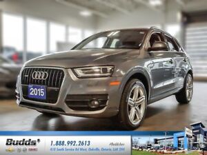 2015 Audi Q3 2.0T Technik SERVICED SAFETY AND RECONDITIONED