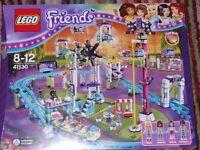 LEGO FRIENDS AMUSEMENT PARK ROLLER COASTER 41130 *NEW* IN SEAELD BOX - BARGAIN