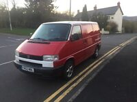 ideal conversion Volkswagen transporter T4 sought after model with tail lift boot and long mot