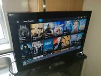 """Samsung 32"""" Smart LCD TV FreeView Built In 3 HDMI HD Ready 720p Others Available"""