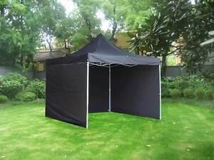 ON SALE - 3x3m Popup Gazebo Party Tent Marquee -Black Melbourne CBD Melbourne City Preview