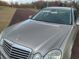 MERCEDES E320 CDI SPORT ESTATE FMBSH SATNAV LEATHER INTERIOR SWAP or CHEAP PART EXCHANGE WHY?