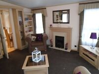 Caravan for sale with bath,freestanding furniture North Devon by the sea