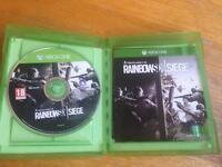 Tom Clancy rainbow six siege (Xbox one)