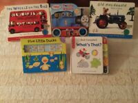 Bundle of five early learning children's books