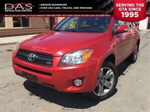 2011 Toyota RAV4 Sport V6 LEATHER/SUNROOF