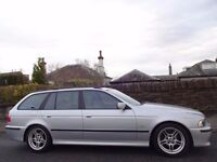 (04) BMW 530d M SPORT AUTO TOURING ESTATE E39- Low Mileage- FSH- NAV- TV- Leather- Late Runout Model