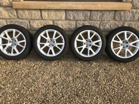 "Audi 18"" winter wheels and tyres - great condition"