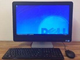 VERY FAST DELL 9010 23 inch All in One PC - i5 3470 - Windows 10, WEBCAM - USB 3.0 - HDMI - Computer