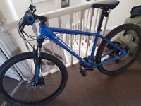 Blue Raleigh Helion 2.0 Mountain Bike