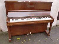 OSBERT SMALL PIANO 7 OCTAVE MAHOGANY CAN DELIVER £140
