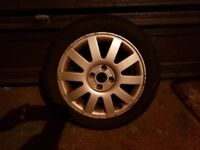 Renault Scenic 16 inch Alloy Wheel in reasonable condition with a New Orium Tyre - 205-50-16-87V.