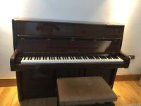 Marshall & Rose rosewood piano and stool Serial No 80211