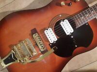 """Custom Vintage Custom Eko Rat, Electro Acoustic Guitar """""""