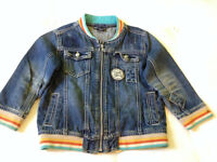 Boys Denim Jacket From NEXT age 3-4 Years