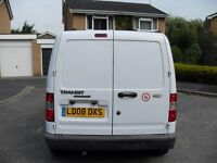 REDUCED TO CLEAR 2 OWNER FORD TRANSIT 1.8 TDCI CONNECT WITH HISTORY NICE VAN