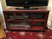 Mahogany TV Lounge Dining Room Display/Storage Cabinet