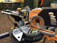 AS new Miter saw on stand with multi purpose blade