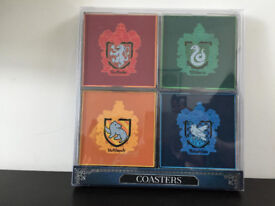 Harry Potter coasters, by Primark, all four houses.