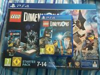 LEGO Dimensions Set (Starter Pack, Level, Team and Fun Packs) - PlayStation 4