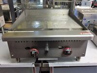 Gas Griddle 2 burner En 260