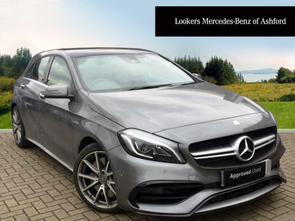 mercedes benz a class a45 amg 4matic grey 2017 03 15 in ashford kent gumtree. Black Bedroom Furniture Sets. Home Design Ideas
