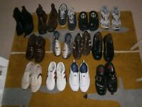 MENS SHOES / BOOTS - 13 PAIRS