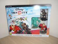 PS3 Disney Infinity Starter Set.
