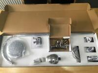 Shower Wall Mixer Tap Complete Set