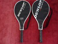 Two Dunlop Tennis Rackets - M3.0_27 & Biotec 300-27